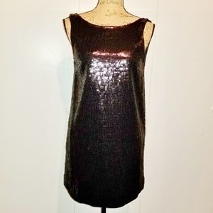 Free People black holiday sequin dress